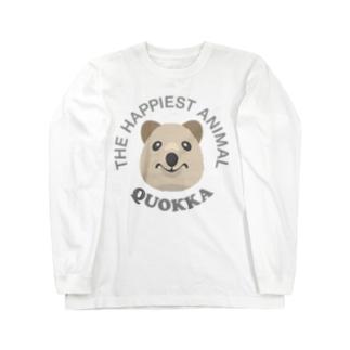 クオッカ(Quokka) Long sleeve T-shirts