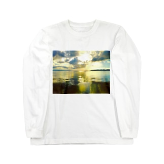 鏡の世界 Long sleeve T-shirts