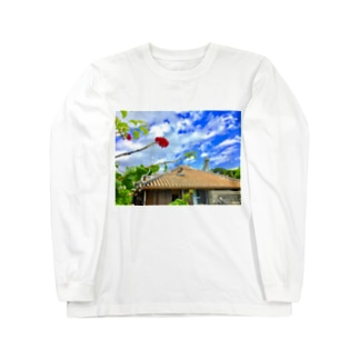 竹富島の心 Long sleeve T-shirts