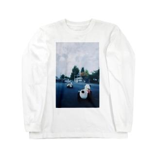 パンダカー Long sleeve T-shirts