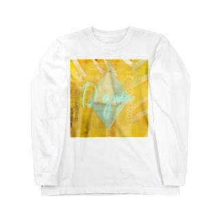 絵画的ピラミッドシステム崩壊 Long sleeve T-shirts