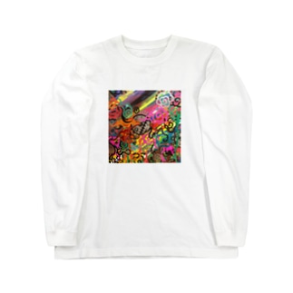 サイケ Long sleeve T-shirts