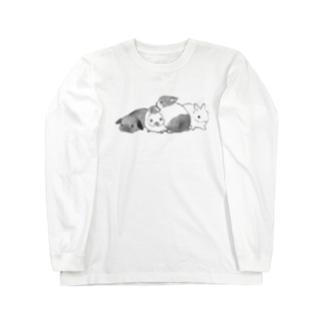 モフフミ Long sleeve T-shirts