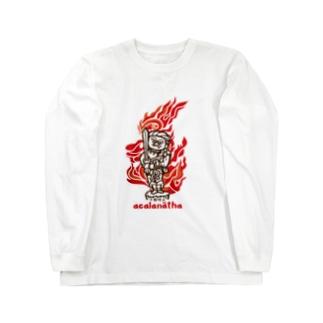 不動明王 Long sleeve T-shirts