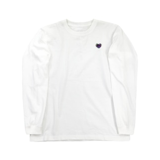 ハート 宇宙 Long sleeve T-shirts