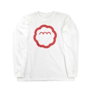 エンエンラ シンボルロゴ(赤) Long sleeve T-shirts