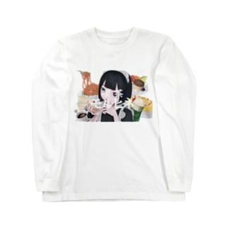 喫茶モルヒネ Long sleeve T-shirts