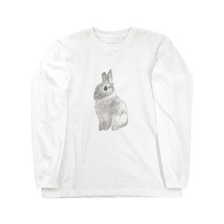 キリッと銀ちゃん  Long sleeve T-shirts