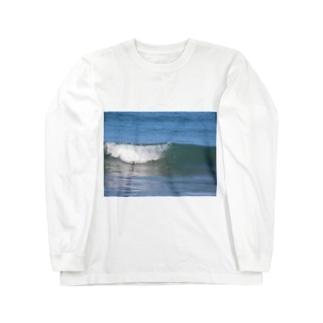 When the wave breaks..., Long Sleeve T-Shirt