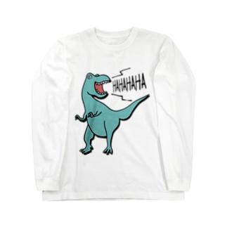 ティラノサウルス Long sleeve T-shirts