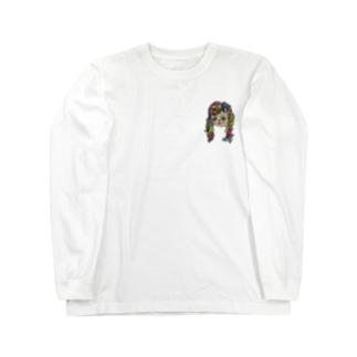 クルクルムスメ👩🏻🦱🤍 Long sleeve T-shirts