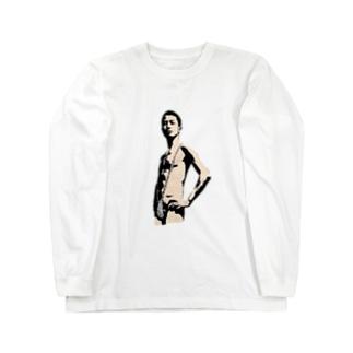 セクシーオカノカイシ Long sleeve T-shirts