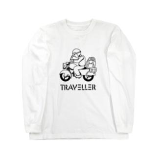 TRAVELLER トラベラー 222 Long sleeve T-shirts