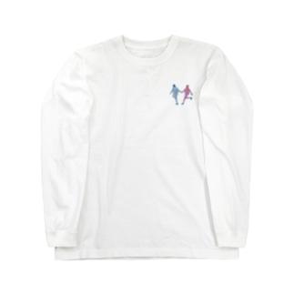 駆け落ち Long sleeve T-shirts