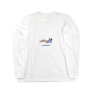 浮遊のんびり Long sleeve T-shirts