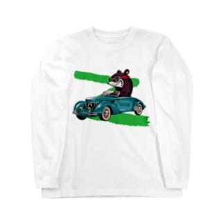 RACING KNUCKLE BEAR Long sleeve T-shirts