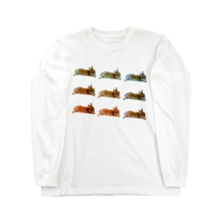 psychedelic♢RABBIT Long sleeve T-shirts
