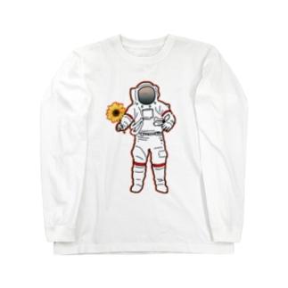 地球防衛隊! Long sleeve T-shirts