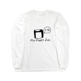 フロッピーディスク 2TB Long sleeve T-shirts