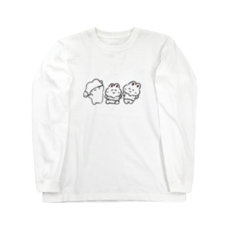 Tシャツうさみ Long sleeve T-shirts