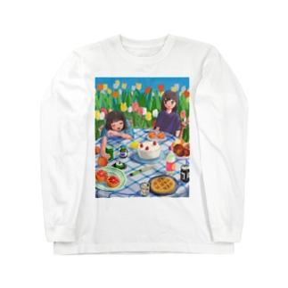 ピクニック2 Long sleeve T-shirts