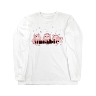 アマビエ様 Long sleeve T-shirts