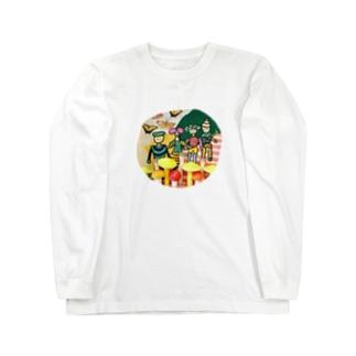 菌ピクニック Long sleeve T-shirts