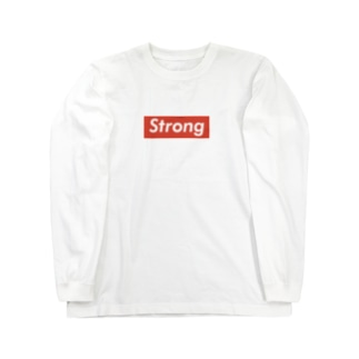 STRONG Long sleeve T-shirts