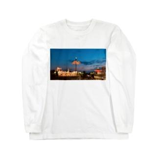 くれなずむ Long sleeve T-shirts