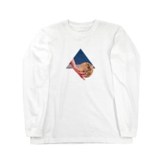 差し入れの月 Long sleeve T-shirts