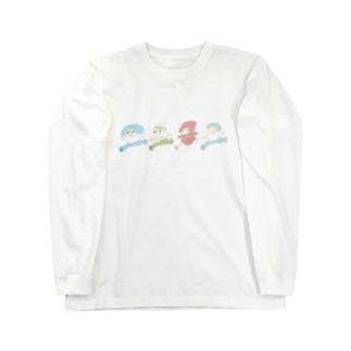 【まどろみちゃんコラボ】ゆるふわバレッタ Long sleeve T-shirts