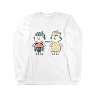 トロピカル Long sleeve T-shirts
