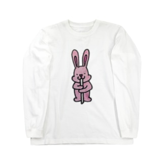 でっぴょん Long sleeve T-shirts