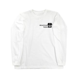 #モノステ モノステロンT Long sleeve T-shirts