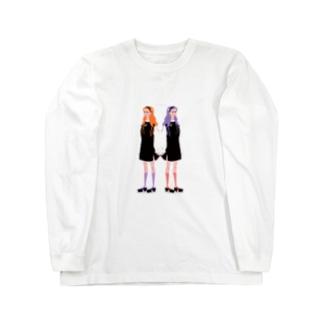 ハロウィンツインズ🎃 Long sleeve T-shirts