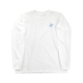 水色ほしあめちゃん Long sleeve T-shirts