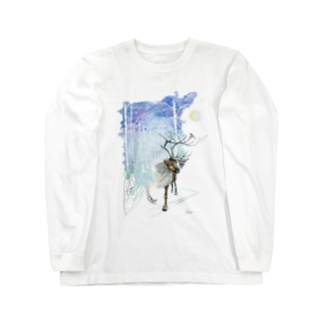 Kota art shopの夢遊 Long sleeve T-shirts