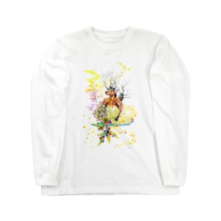 Kota art shopの夢見 Long sleeve T-shirts