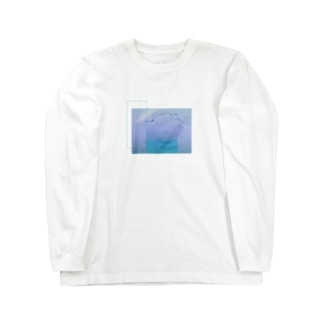 水と詩 Long sleeve T-shirts