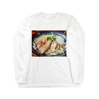 ソーキそば Long sleeve T-shirts