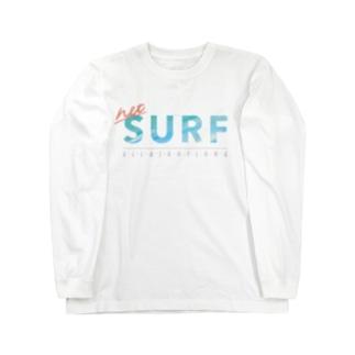 ネットサーフ(夏) Long sleeve T-shirts