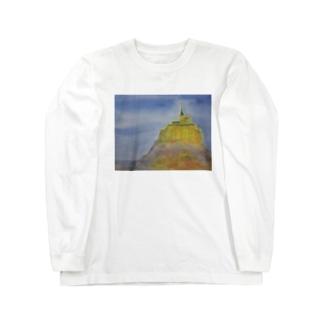 モンサンミッシェル Long sleeve T-shirts