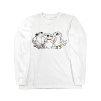 Reptiles MIKAERU  Long sleeve T-shirts
