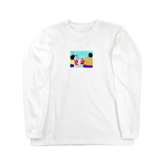 REPRESENT YOBITSUGI PAKURI Long sleeve T-shirts