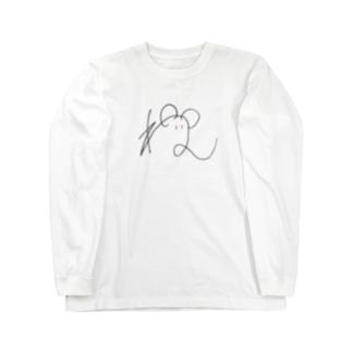 ねずみちゃん Long sleeve T-shirts