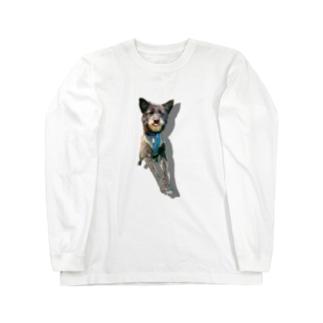 うちのいぬ Long sleeve T-shirts