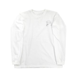祈るいのりんモノクロ(小) Long sleeve T-shirts