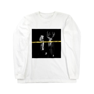 KEEP OUT - simple ver - Long sleeve T-shirts