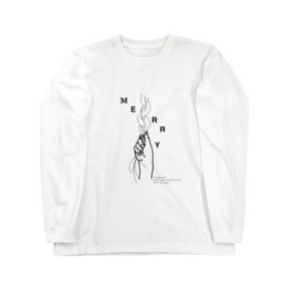 MERRY Long sleeve T-shirts