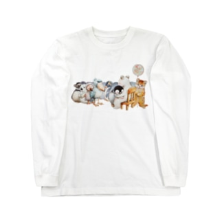 フリーハグ Long sleeve T-shirts